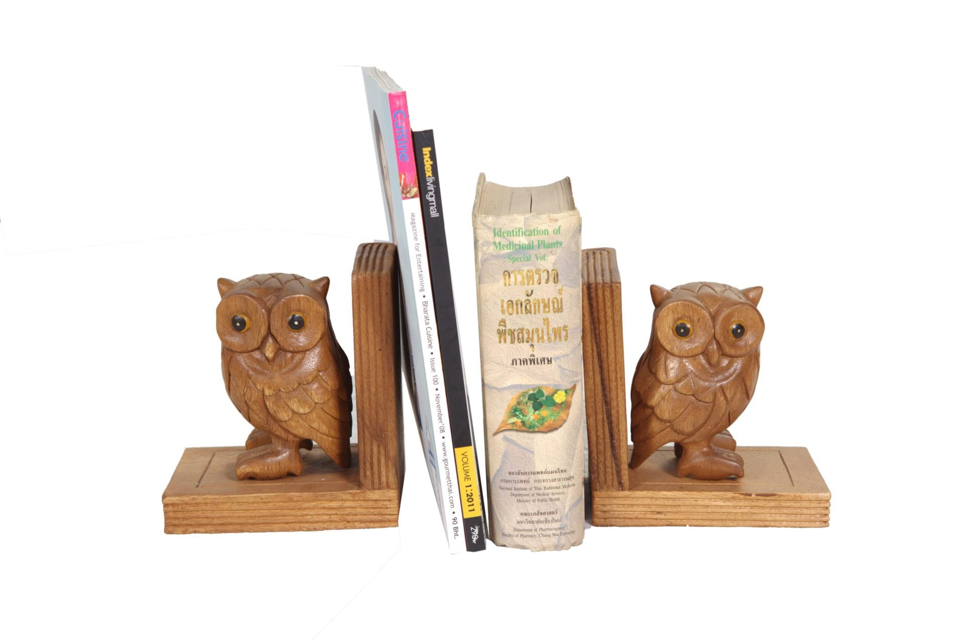 Bookend Owl Figurines