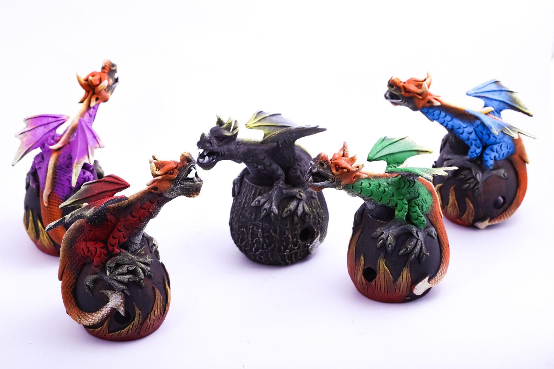 Incense Holder Dragon