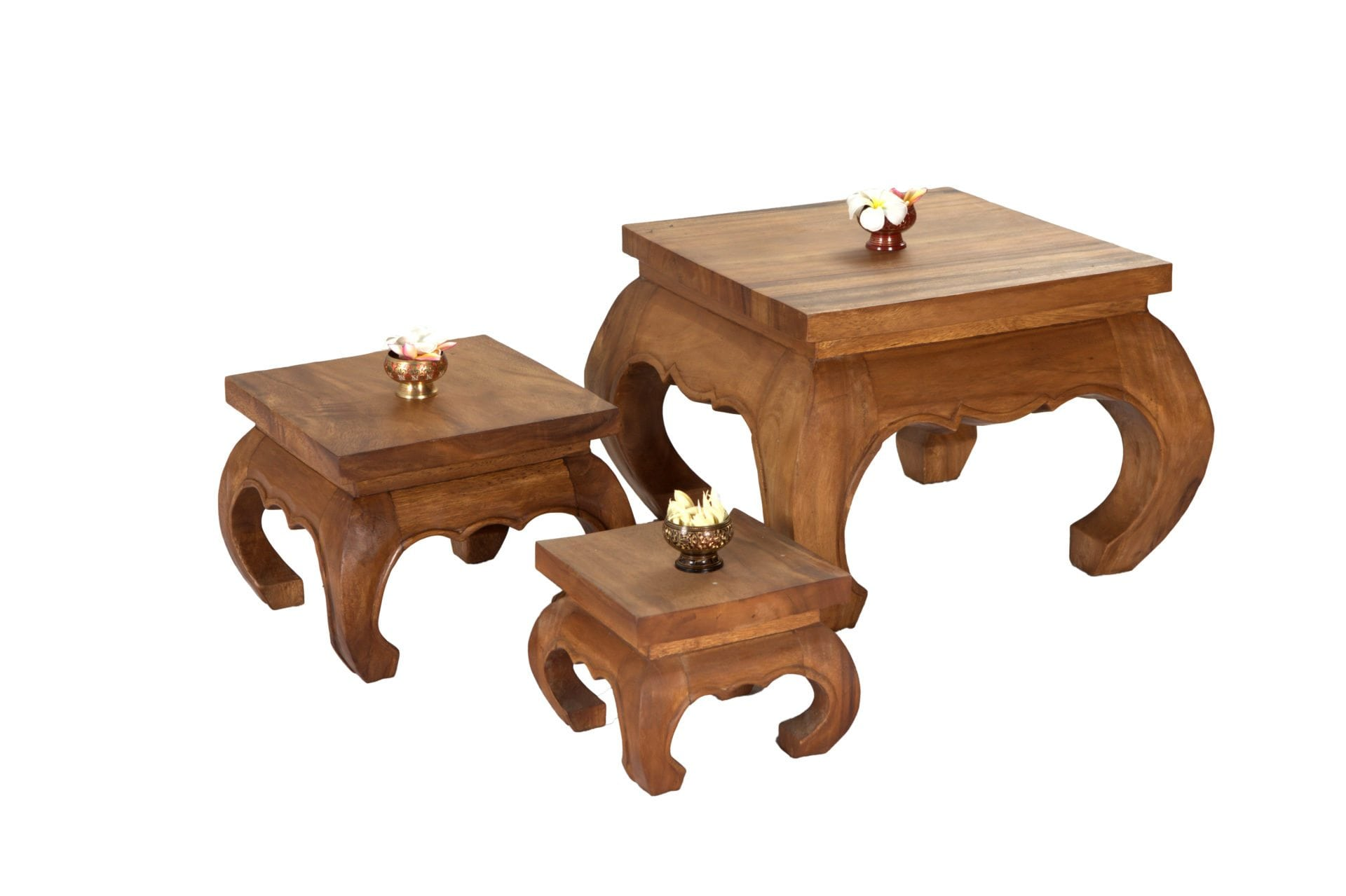 Twist Stools & Wood Carving Stools