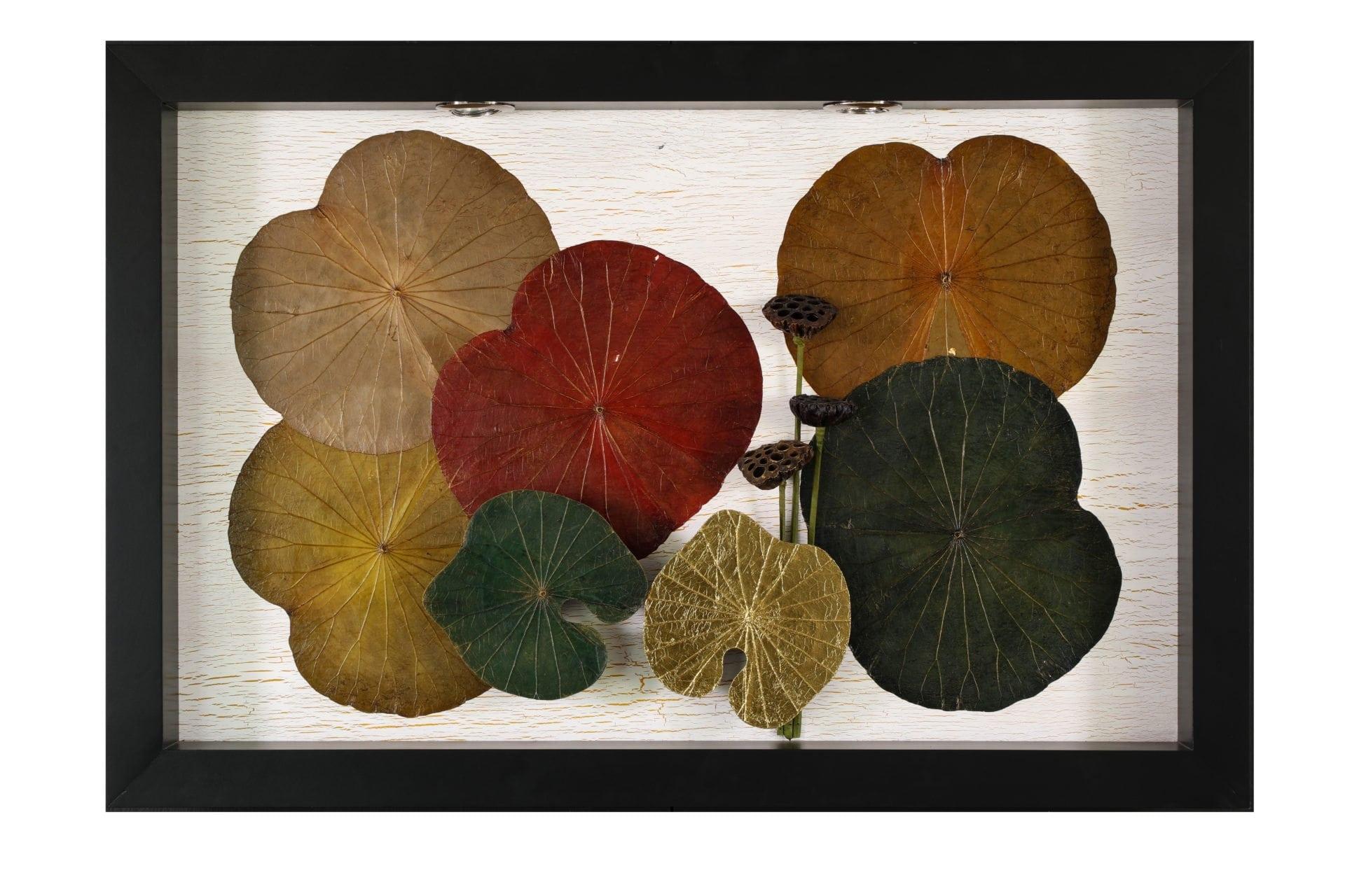 Leaf Wall Art lotus leaves wall art & decor | monkeypod asia