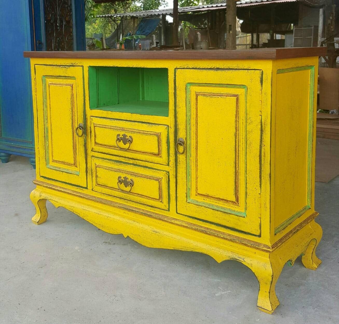 Vintage Cabinet Console