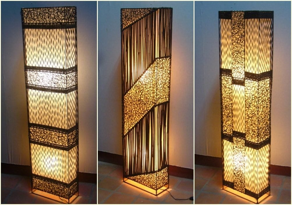Bamboo Amp Wicker Lamps Monkeypod Asia