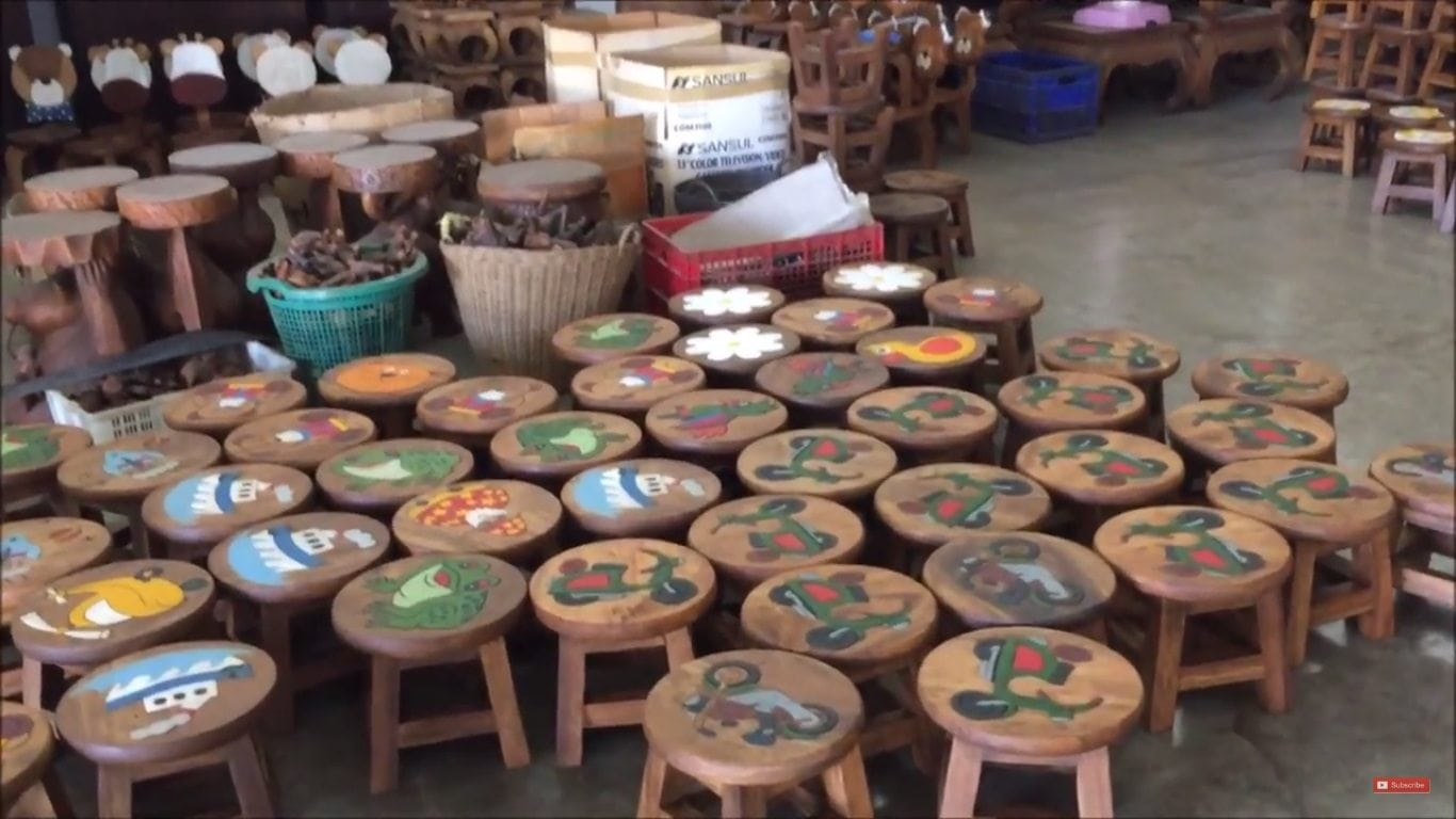 Wholesale Children's Wooden Stools and its Manufacturing Process