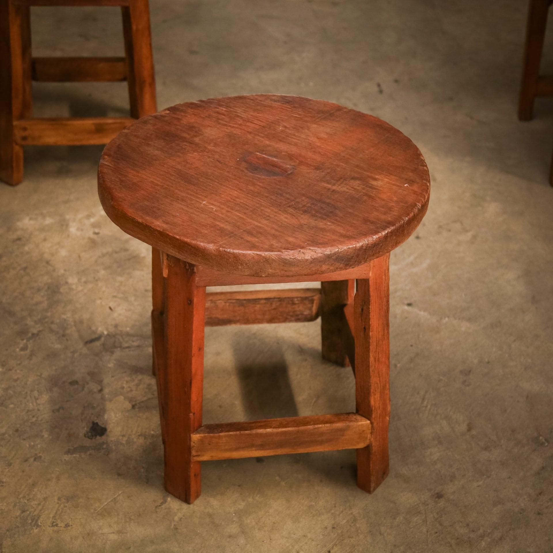 Large Vintage Monkey Pod Wood Slab Coffee Table: Coffee Table PN 002