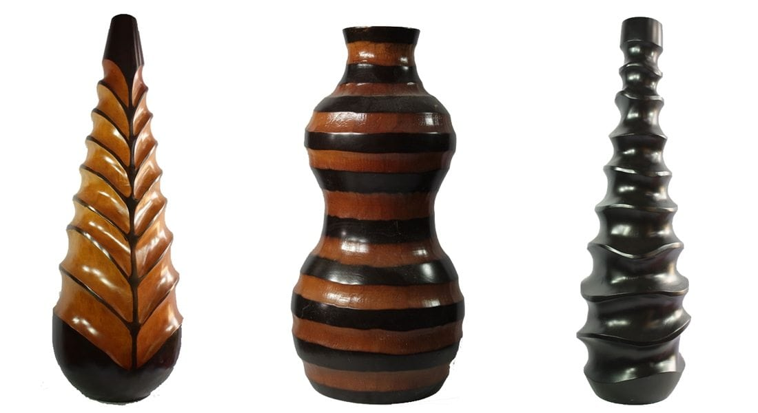 Other Vase Mango Wood