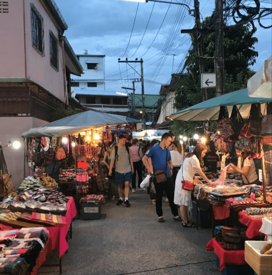 Wholesale Markets in Chiang Mai for Thai Handicrafts Part 2: Saturday Walking Street Market