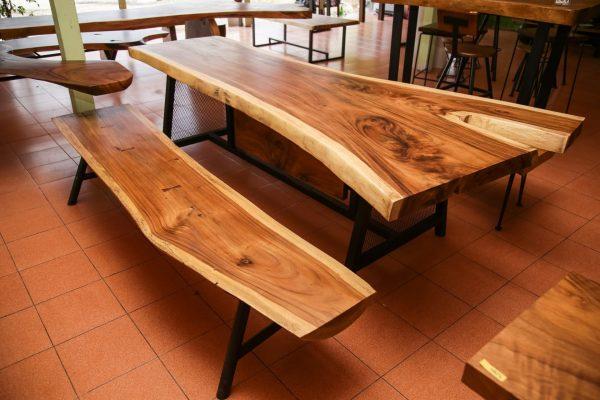 Chiang Mai handicrafts Wholesale Suar wood Bench
