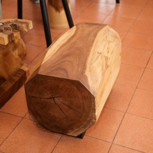 Chiang Mai handicrafts Wholesale Suar wood small Bench