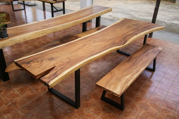 Thailand handicrafts Wholesale Suar wood Bench
