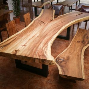 Chiang Mai handicrafts Wholesale Suar wood Large Bench