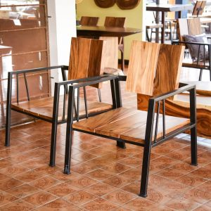 Chiang Mai handicrafts Wholesale Suar wood Chair and Dinning TableThailand handicrafts Wholesale Suar wood Chair