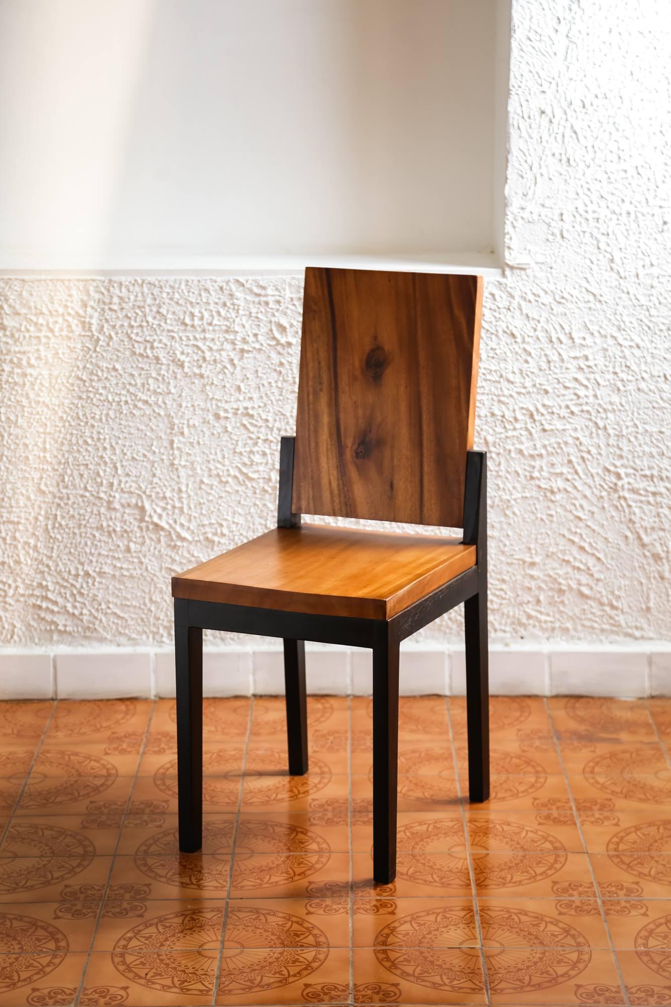 Thailand handicrafts Wholesale Suar wood Chair
