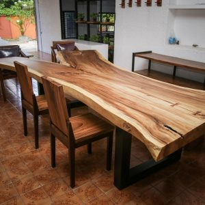 Thailand handicrafts Wholesale Suar wood Chair and Dinning Table