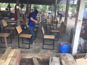 Manufacturing process of suar wood furniture wholesale
