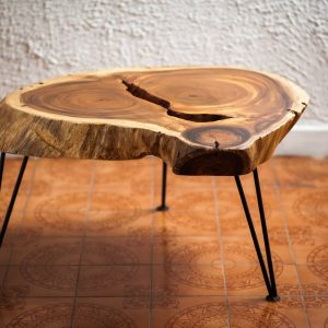 Chiang Mai handicrafts Wholesale Suar wood Coffee Table with dark color