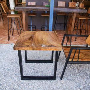 Suar wood Coffee Table and Chair