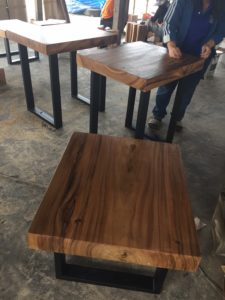 Production process of suar wood coffee tables