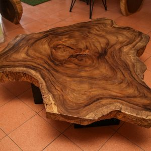 Thailand handicrafts Wholesale Suar wood large Coffee Table