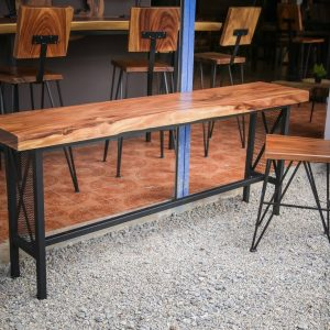 Chiang Mai handicraft wholesale suar wood dining table and chair