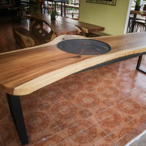 Large suar wood dinning table