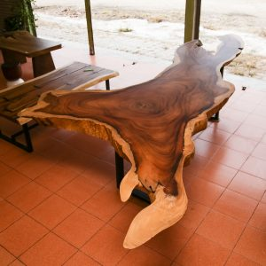 Chiang Mai handicrafts Wholesale Large suar wood dinning table