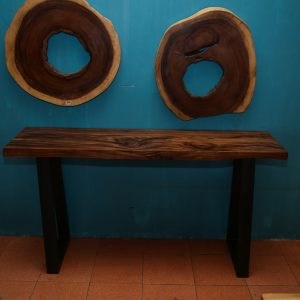 Thailand handicarft wholesale Suar wood sofa table