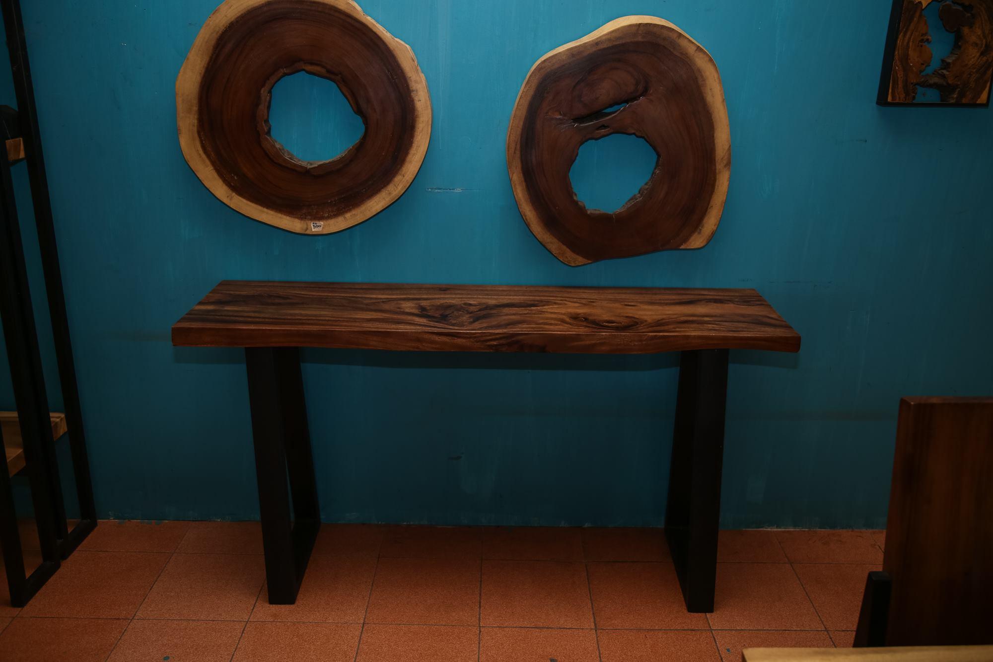 Thailand handicarft wholesale Suar wood sofa table