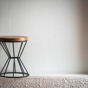 Suar wood stool