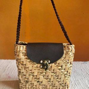 Chiang Mai handicrafts Wholesale Bulrush handbag