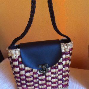 Thailand handicrafts Wholesale Rattan handbag