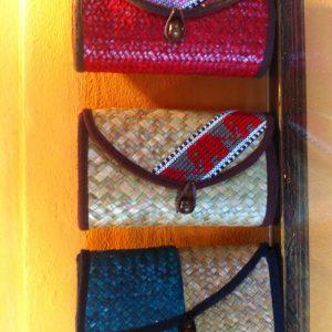 Thailand handicrafts Wholesale Rattan handbag with Thai definition design