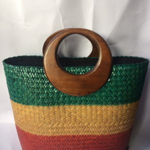 wicker handbag wholesale colorful
