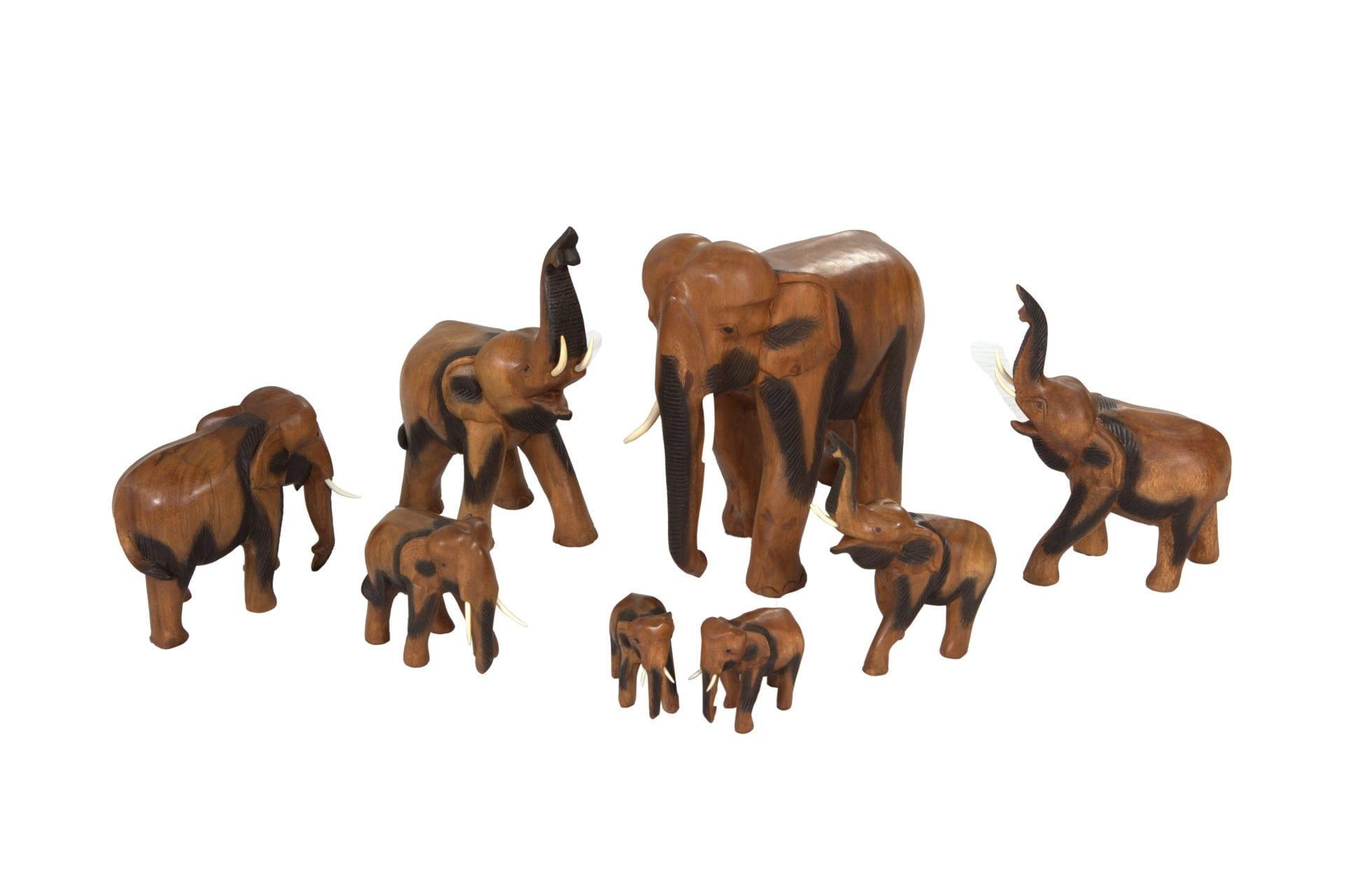 Elephants Figurines