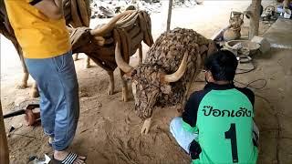 Driftwood Horse Sculpture Wholesale Manufacturer in Northern Thailand